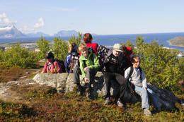 Fin utsikt fra toppen -  Foto: Geir Antonsen