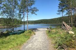 Fiskeplass ved Gapahuk -  Foto: Ane Killingstad