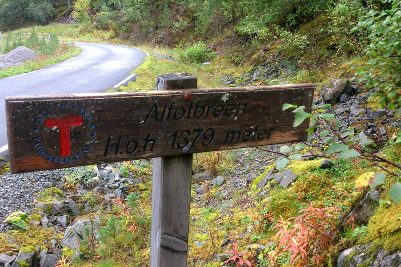 Her starta turen i Åsgåra.