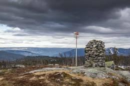 Utsikten fra toppen av Elghøgde -  Foto: Lars Storheim