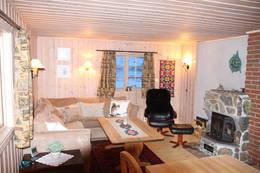 Trivelig stue i Skarvheim - Foto:
