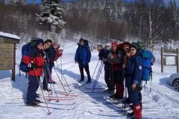 Fra starten av Rjukan Fjellstue -  Foto: Hanne Findal