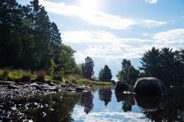 Idyll ved Vannassen.  - Foto: John Petter Nordbø
