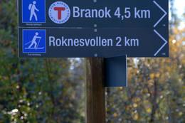 roknesvollen kart Branokhytta   Hytte   UT.no roknesvollen kart