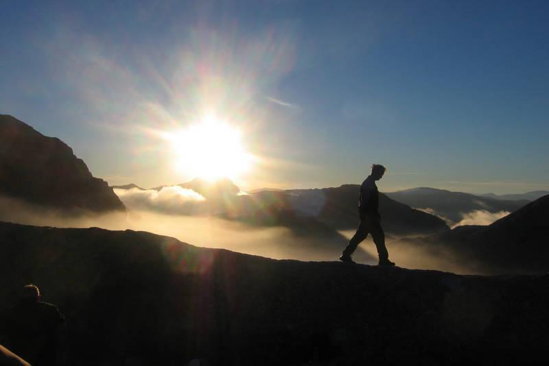 Morgenstund på Gjegnabu