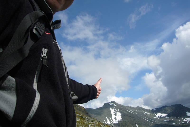 Storsylen er en populær topptur med sine 1762 høydemeter. Det er 1000 meter stigning opp til toppen fra Nedalshytta.