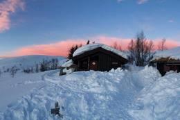 Vinter på Grytbakksetra - Foto: