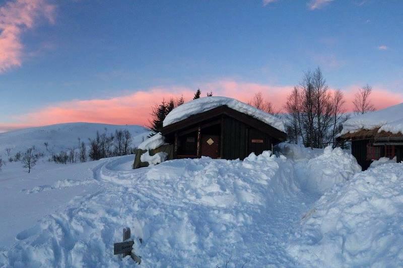 Vinter på Grytbakksetra