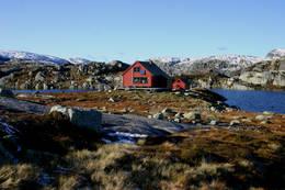 Sandvatn før 2018 -  Foto: Leif Rune Salte