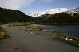 Parkeringen ved Osavatnet - her starter turen - Foto: Svein-Magne Tunli