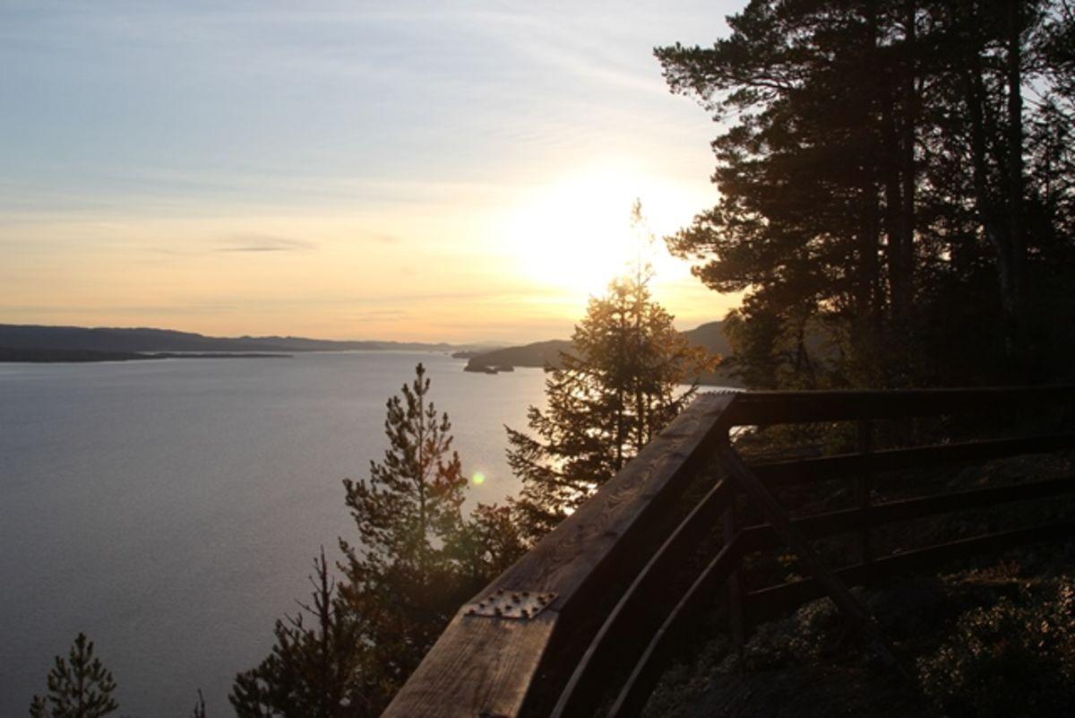 Utsikten fra Roaldstein
