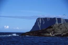 Knivskjelodden med Nordkapp i bakgrunnen - Foto: Per Roger Lauritzen
