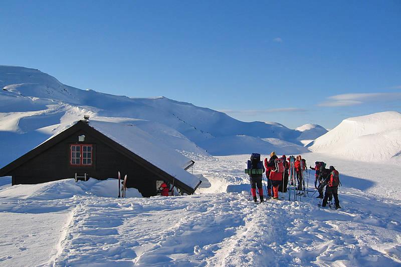 Vinterturene til Vardadalsbu kan være en fantastisk opplevelse