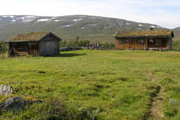 Seter ved Jøldalshytta - Foto: Torfinn Evensen