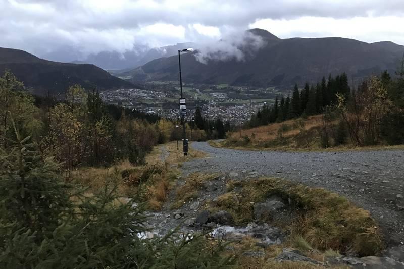 Dette er tatt ved 3. vasshus. 100 meter fra Gapahuken.