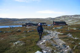 Avang fra Krækkja mot Tuva  - Foto: Heidi Wexels Riser