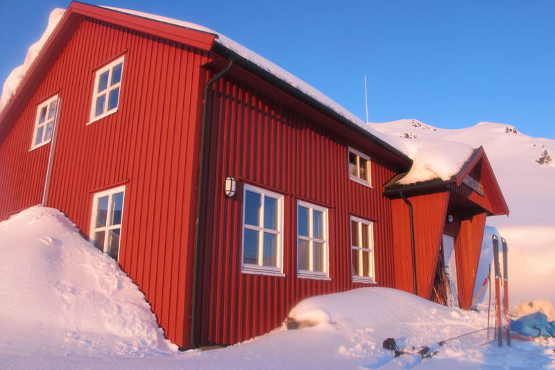 Ny-Sulitjelma fjellstue vinter 2012