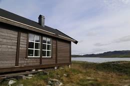 Ny hytte bygd 2016 - Foto: Bjørn Forselv