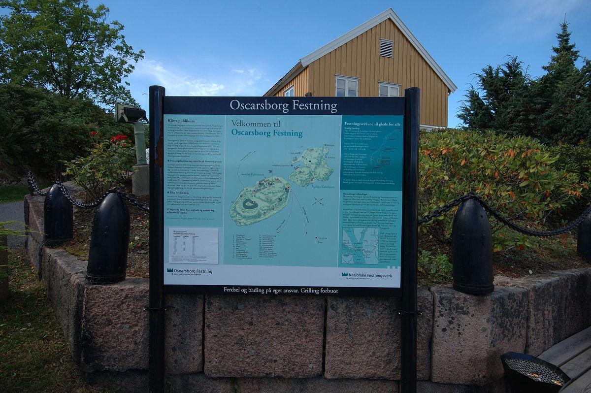 På fergekaia er det god informasjon over alt du bør se når du går på turveiene her ute.