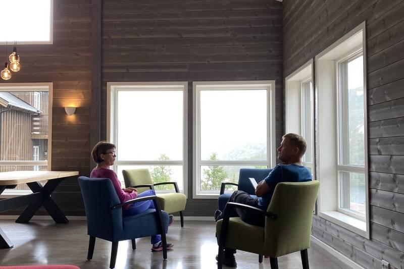 Et godt sted for sosialt samvær! Foto Sissel Håskjold