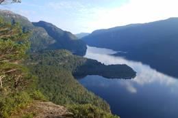 Utsikt fra Berget -  Foto: Nils E. Langhelle