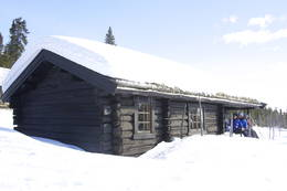Øvre Fjellstul mars 2010 - Foto: Mette Martinsen