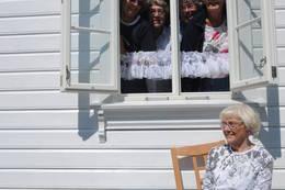 Fra kjøkkenvinduet på Gramstad - Foto: Stavanger Turistforening