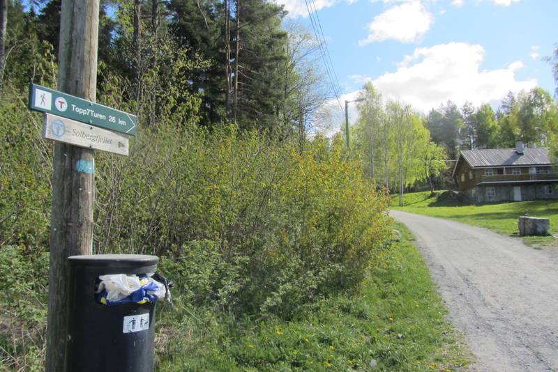 Starten på Topp7Turen er på Bjørkedokk i Krokstadelva.