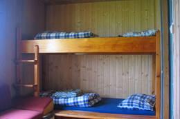 Soverom på Velleseter - Foto: I. Ødegaard