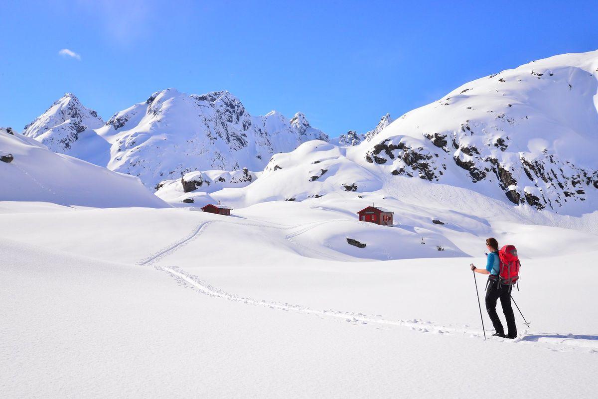 Ta turen til Trollfjordhytta!
