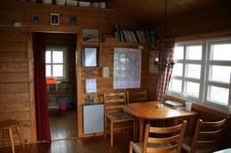 Kjøkkenet på Vasstindbu - Foto: Arild Sele