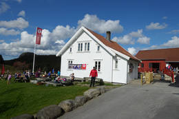 Gramstad hus -  Foto: Anne Katrine Lycke