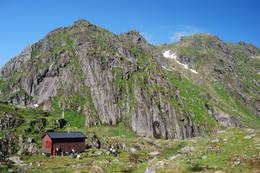 Lille Trollfjordhytta - Foto: Bjørn Eide