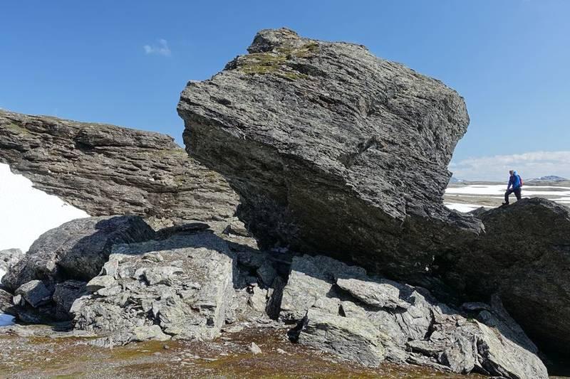 Gunnulven, karakteristisk steinblokk.