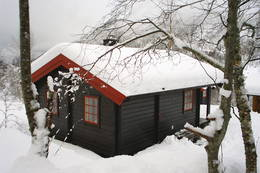 Brandstadbu om vinteren - Foto: Arne Sandøy