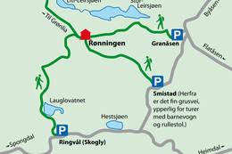 Sommerruter til Rønningen - Foto: