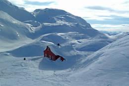 Flotte snøforhold - Foto: Linda Fongaard