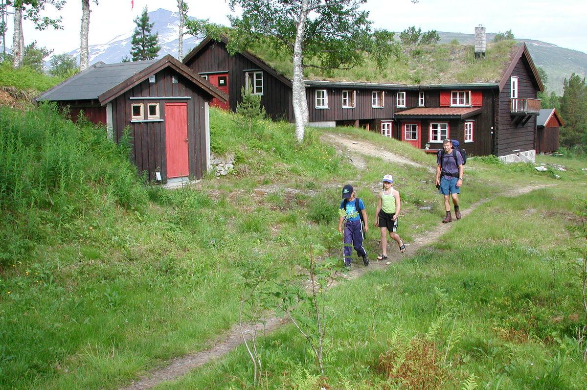 Trollheimshytta er et fint utgagnspunkt for toppturen til Geithøtta.