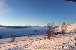 Vinterlandskap ved Grytbakksetra - Foto: