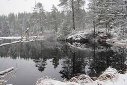 Steinsjøen ved Vangen - Foto: Dag Olav Brækkan