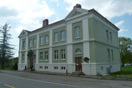 Administrasjonsbygget - Foto: Ukjent