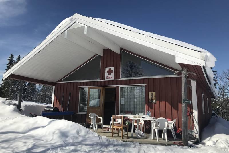 Røde Kors-hytta på Veneli