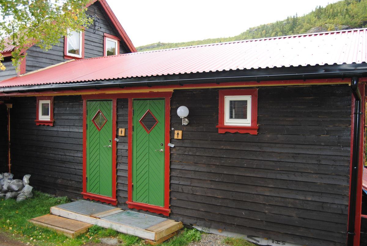 Sanitærbygg nytt 2015 Dame og Herre avd.