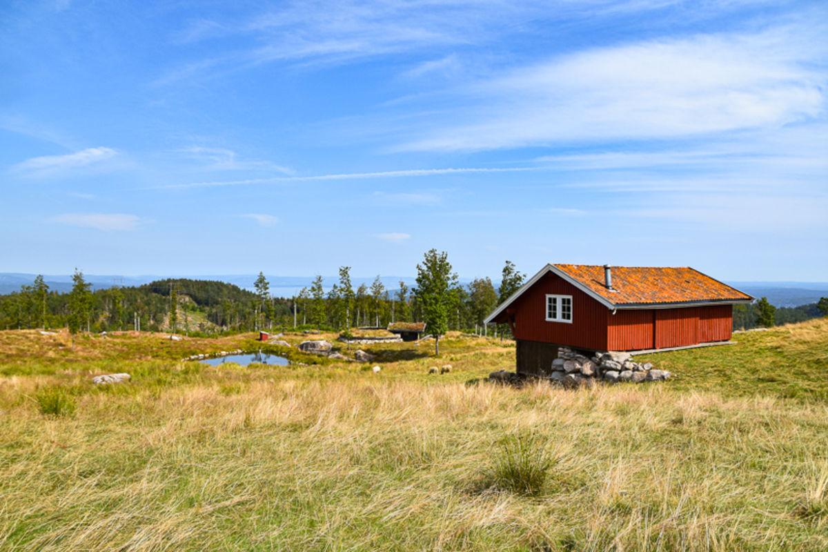 Setervollen på toppen av Bjørnåsen på Hurum.