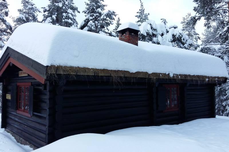 En fin vinterdag på Småvannsbu