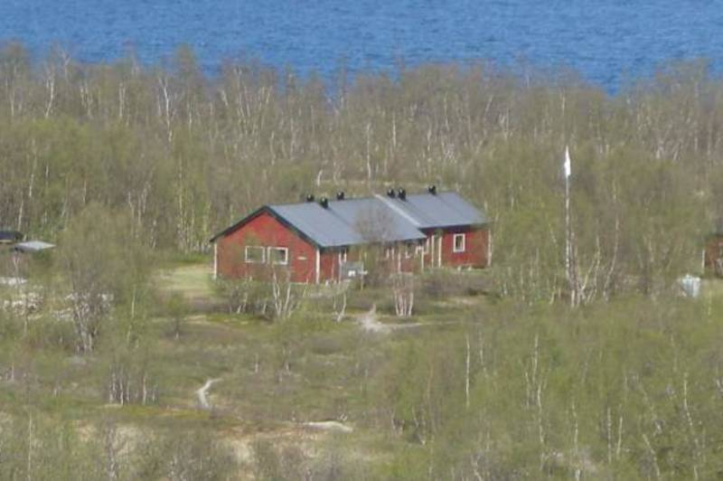 Utsikt fra Bunkerhøyden mot Abiskojaure