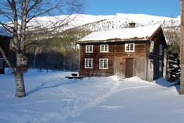 Målastua er den selvbetjente hytta på Kårvatn.  - Foto: Lillian Svingen