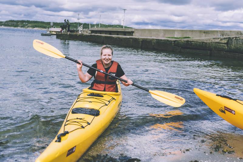Flotte områder for padling