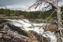 Kraftig vannføring -  Foto: AAT