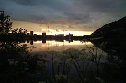 Store Lungegårdsvann med utsikt mot sentrum -  Foto: Anders Søyland
